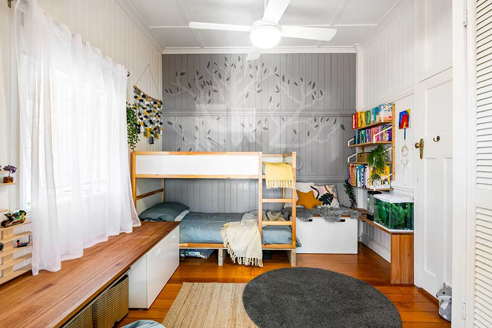 Kids bedroom retreat